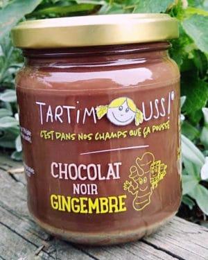 Tartimouss au Chocolat noir Gingembre