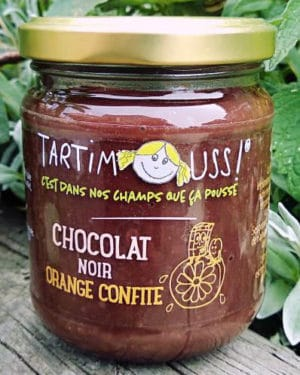 Tartimouss au Chocolat noir Orange confite