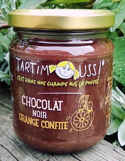 Tartimouss au Chocolat noir Orange confite